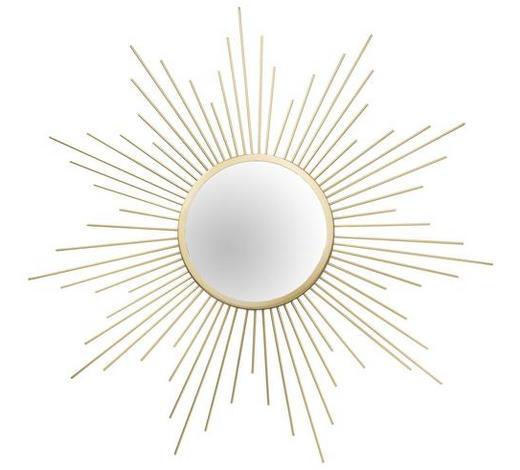 OGLEDALO ZIDNO - boje zlata, Trend, staklo/metal (60cm)