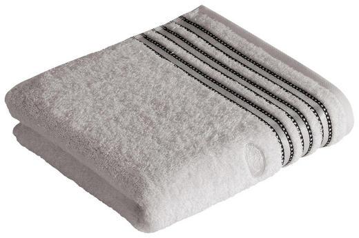 RUČNIK - svijetlo siva, Konvencionalno, tekstil (50/100cm) - Vossen