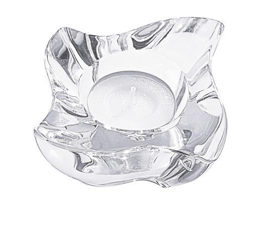KERZENHALTER - Klar, Basics, Glas (8cm) - NACHTMANN