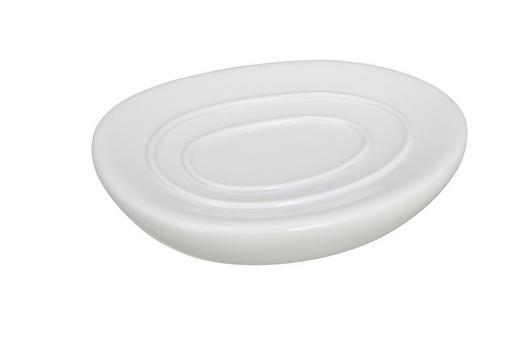SEIFENSCHALE - Weiß, Basics, Kunststoff (12.5/9.5/10.7cm)