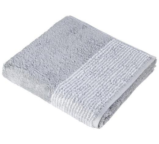 HANDTUCH 50/100 cm  - Silberfarben, KONVENTIONELL, Textil (50/100cm) - Cawoe