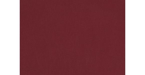 MASSAGESESSEL in Leder Rot  - Rot, Design, Leder (80/117/114cm) - Cantus