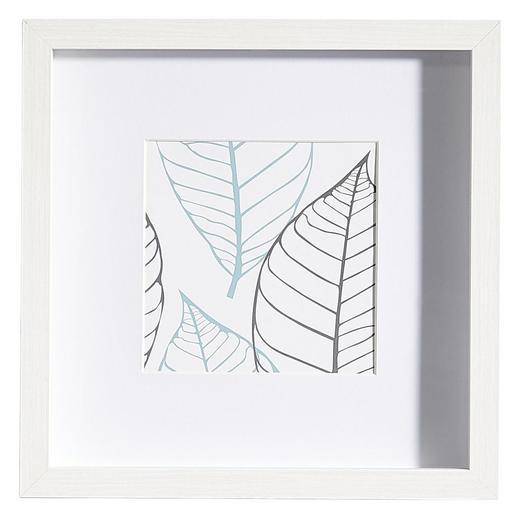 BILDERRAHMEN in Weiß - Weiß, Basics, Glas/Holz (25/25/3cm)