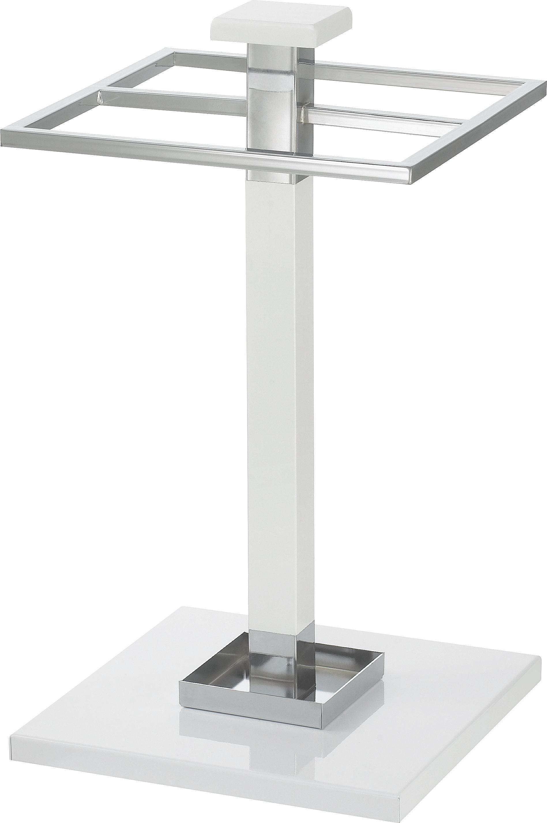 STALAK ZA KIŠOBRANE - bijela, Design, drvo/metal (30/53/30cm) - BOXXX