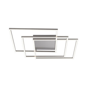 LED-TAKLAMPA - silver, Design, metall/plast (60/60/8cm)
