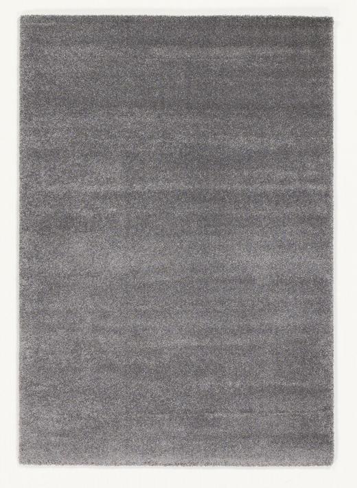 HOCHFLORTEPPICH   gewebt  Grau - Grau, Basics, Textil (65/130/cm) - Novel