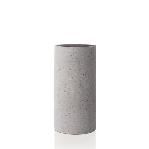 VASE 24,0 cm - Hellgrau, Basics, Stein (24cm) - Blomus