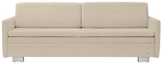 SCHLAFSOFA in Textil Naturfarben - Naturfarben, KONVENTIONELL, Textil/Metall (216/84/92cm) - Sedda