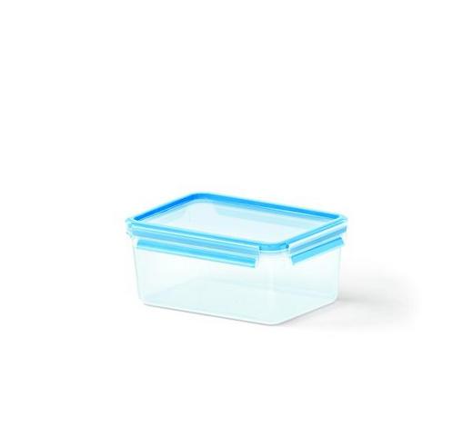 FRISCHHALTEDOSE 2,3 l - Blau/Transparent, KONVENTIONELL, Kunststoff (22.6/16.7/9.9cm) - Emsa
