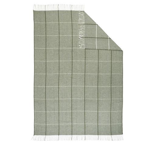 WOHNDECKE 150/200 cm  - Grün, KONVENTIONELL, Textil (150/200cm) - Novel