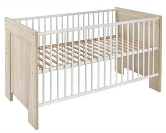 POSTÝLKA DĚTSKÁ - barvy dubu, Konvenční, dřevo/dřevěný materiál (146/71/9cm) - My Baby Lou
