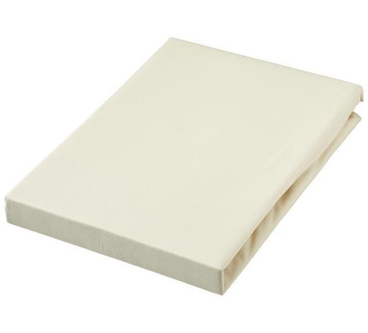 TOPPER SPANNBETTTUCH 90/190 cm  - Creme, Basics, Textil (90/190cm) - Novel