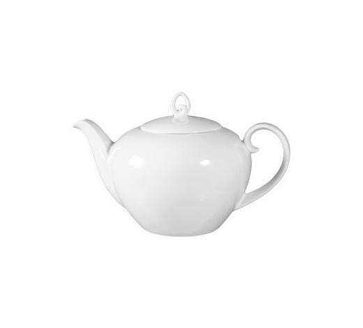 TEEKANNE 1,2 l - Weiß, Basics, Keramik (1,2l) - Seltmann Weiden