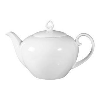 VRČ ZA ČAJ RONDO, 1,2L - bela, Konvencionalno, keramika (1,2l) - Seltmann Weiden