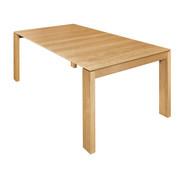 ESSTISCH Eiche furniert rechteckig Eichefarben - Eichefarben, Design, Holz (200/100/75cm) - Hülsta - Now