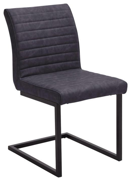 SCHWINGSTUHL Grau, Schwarz - Schwarz/Grau, Design, Textil/Metall (47/86/63cm) - Carryhome