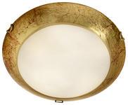 DECKENLEUCHTE - Goldfarben, LIFESTYLE, Glas/Metall (40cm) - Landscape