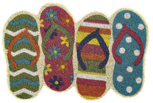 FUßMATTE 40/60 cm Multicolor  - Multicolor, Trend, Kunststoff/Textil (40/60cm) - Esposa