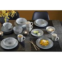 Kombiservice - Schwarz/Weiß, Lifestyle, Keramik - Ritzenhoff Breker