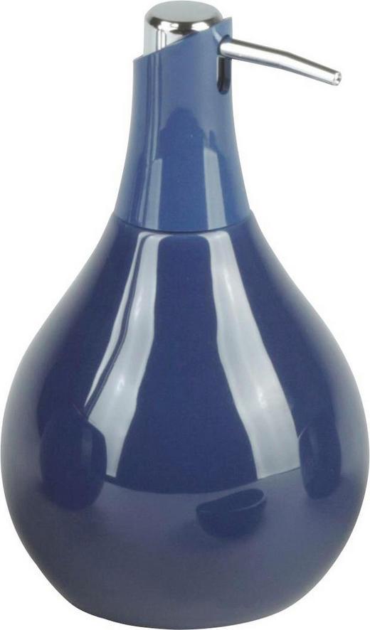 SEIFENSPENDER Keramik - Blau, Basics, Keramik (10/17.5cm)