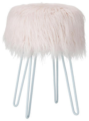 PALL - vit/rosa, Trend, metall/träbaserade material (28/44cm) - Ambia Home