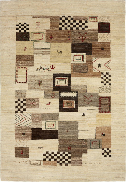 ORIENTTEPPICH 90/160 cm - Beige, LIFESTYLE, Textil (90/160cm) - Esposa