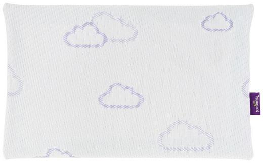 Babykopfkissen - Lila/Weiß, Basics, Textil (40/25cm) - Träumeland