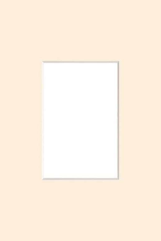 PASSEPARTOUT  Beige - Beige, Papier (24/30cm)