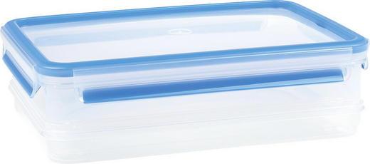 FRISCHHALTEDOSE 1,65 - Blau/Klar, Basics, Kunststoff (1,65l) - Emsa