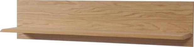 WANDBOARD in 110/25/25 cm Eichefarben  - Eichefarben, KONVENTIONELL, Holz (110/25/25cm) - Novel