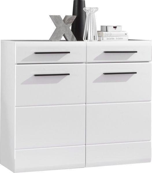 ORMAR ZA OBUĆU - bijela, Design, drvni materijal (100/88/35cm) - XORA