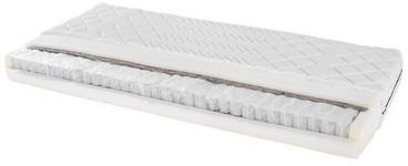 Taschenfederkernmatratze Primavera 120x200cm H2 - Weiß, Textil (120/200cm) - Primatex