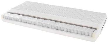 Taschenfederkernmatratze Primavera 80x200cm H2 - Weiß, Textil (80/200cm) - Primatex