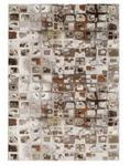 WEBTEPPICH  120/170 cm  Beige, Dunkelbraun - Beige/Dunkelbraun, Basics, Textil (120/170cm) - Novel