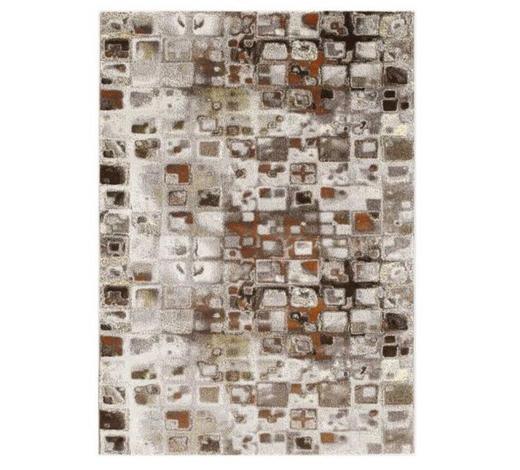 WEBTEPPICH  80/150 cm  Dunkelbraun, Beige   - Dunkelbraun/Beige, Basics, Textil (80/150cm) - Novel