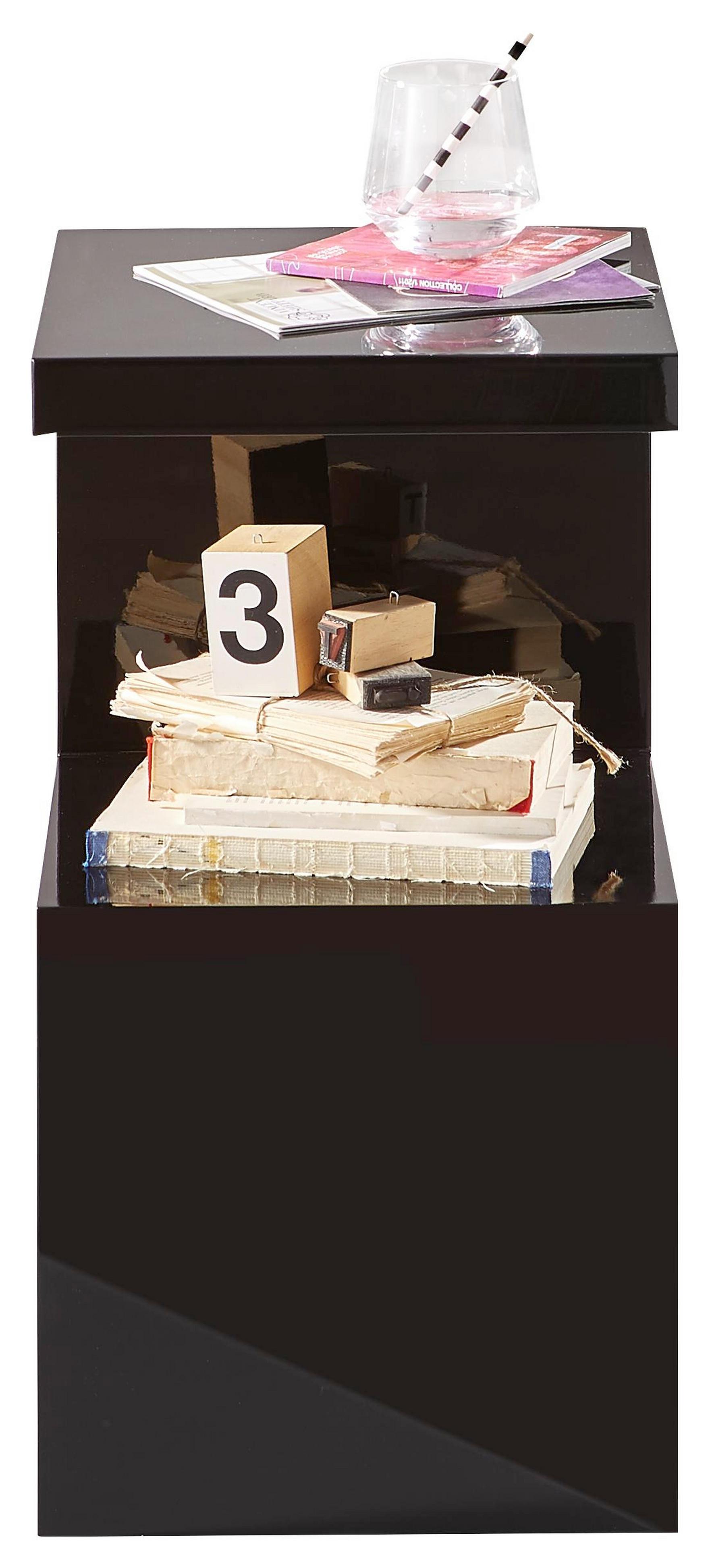 25 Sparen Xora Beistelltisch Quadratisch Schwarz Nur 5993
