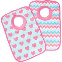 LÄTZCHEN - Türkis/Pink, Basics, Textil (23,5/37cm) - MY BABY LOU