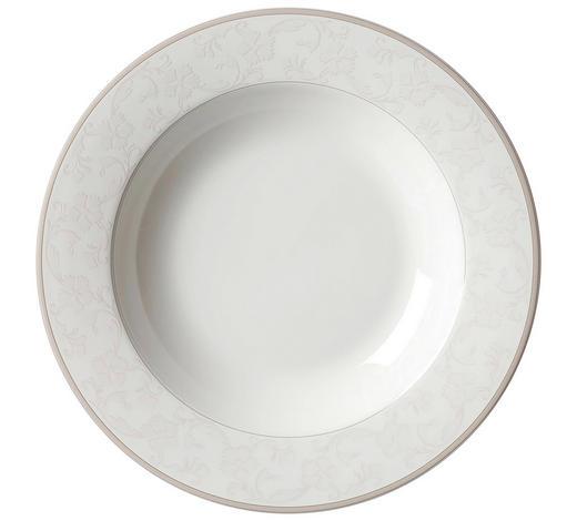 TALÍŘ NA POLÉVKU, porcelán (fine china) - béžová, Konvenční, keramika (21,5cm) - Ritzenhoff Breker