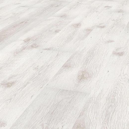 LAMINATBODEN  Eichefarben, Weiß  per m² - Eichefarben/Weiß, Design (137,6/19,3/0,6cm)