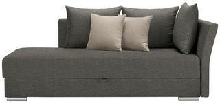 LIEGE in Textil Beige, Grau - Chromfarben/Beige, Design, Kunststoff/Textil (220/93/100cm) - Xora