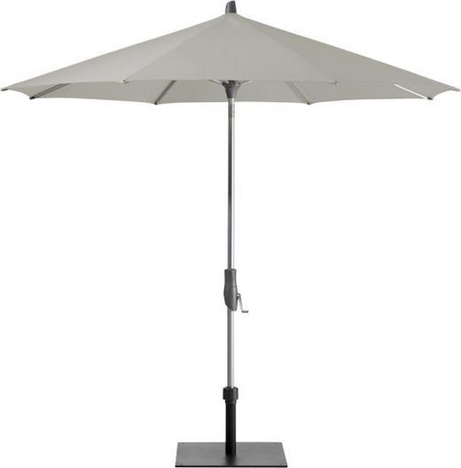 SONNENSCHIRM 300 cm Taupe - Taupe/Silberfarben, KONVENTIONELL, Textil/Metall (300cm) - Glatz