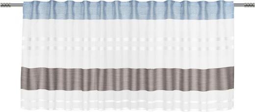 KURZGARDINE   50/135 cm - Dunkelblau, Basics, Textil (50/135cm) - Esposa