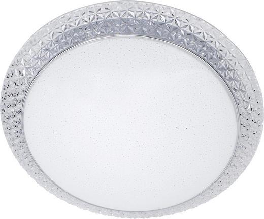 LED STROPNÍ SVÍTIDLO - bílá, Lifestyle, umělá hmota (51/12cm) - NOVEL