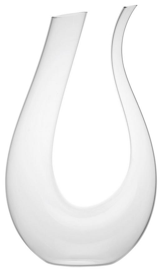 DEKANTER  1 L - Klar, Design, Glas (19,5/9,5/35cm) - Novel