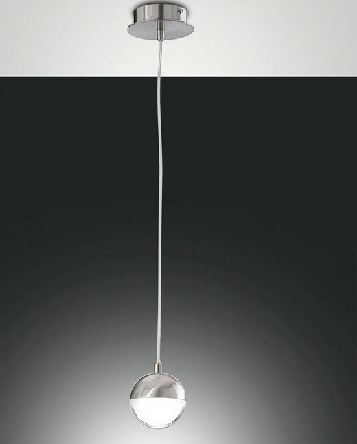 LED-HÄNGELEUCHTE - Transparent/Weiß, Design, Kunststoff/Metall (10/200/cm)