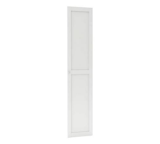 TÜR - Weiß, MODERN, Holzwerkstoff (45,4/202,6/1,8cm) - Hom`in