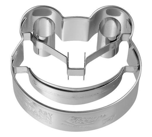 KEKSAUSSTECHFORM - Edelstahlfarben, Basics, Metall (5/2,5/4,3cm) - Birkmann