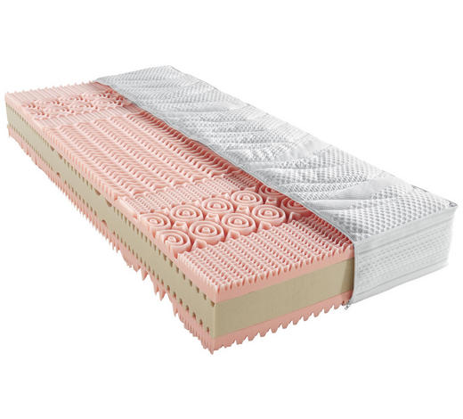 KOMFORTSCHAUMMATRATZE 120/200 cm - Basics, Textil (120/200cm) - Novel