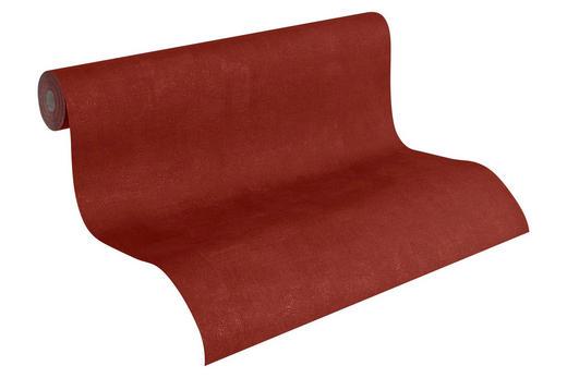 VLIESTAPETE 10,05 m - Dunkelrot, Basics, Textil (53/1005cm)