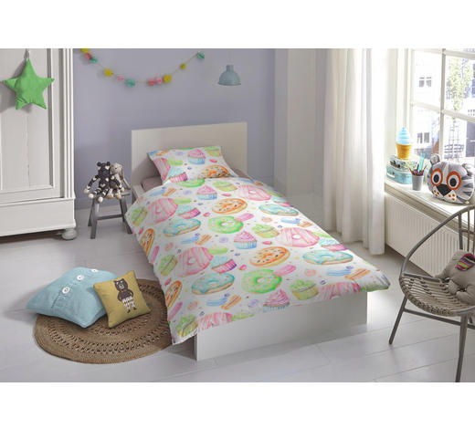 Kinderbettwäsche Renforcé Multicolor 135200 Cm